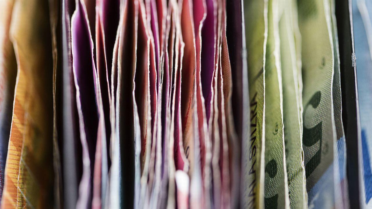 Les jeunes et l'argent, un dossier de RTS Découverte. [Christian Beutler - Keystone]