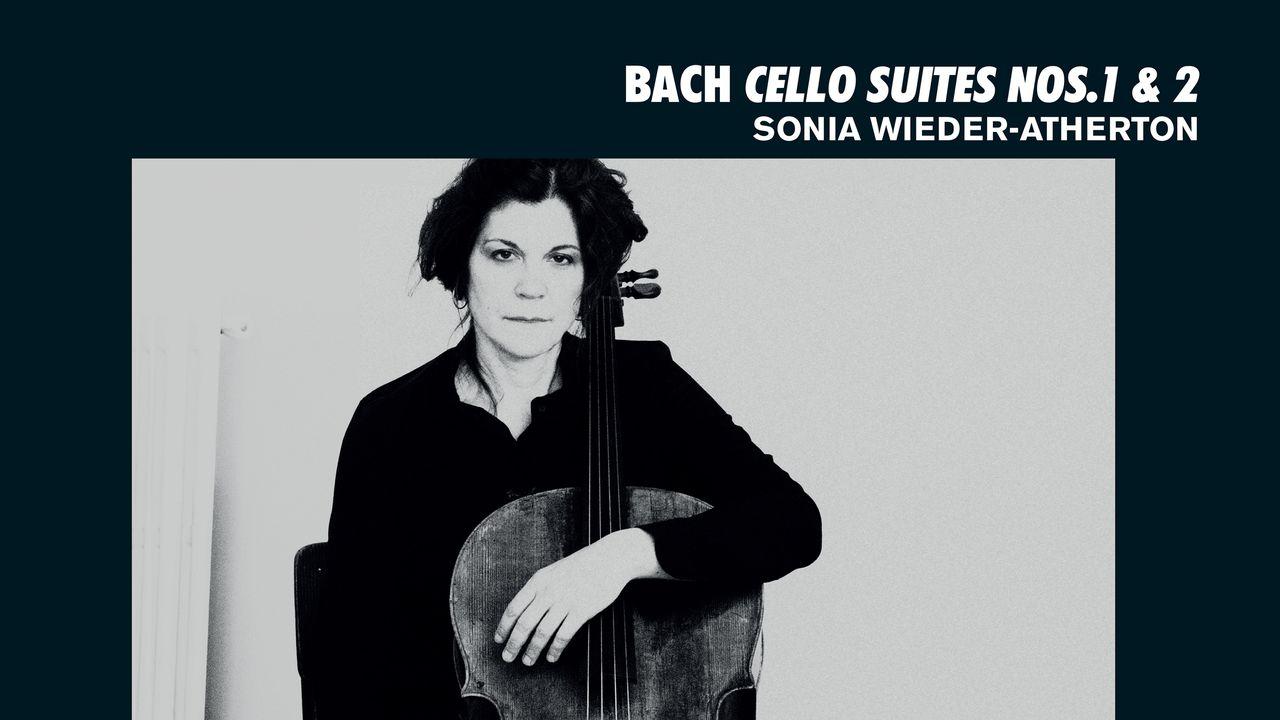 "La pochette de l'album ""Bach - Cello Suites nos. 1 &2"" de Sonia Wieder-Atherton. [Alpha Classics]"