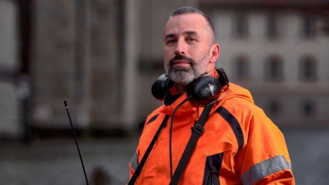Fernando Monteiro, responsable écoute réseau d'eau, à la ville de Lausanne.  [Laurent Kaczor - DR]