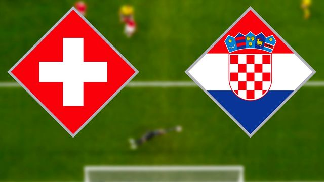 Football: Suisse - Croatie. [RTS]