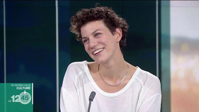 Rendez-vous culture avec la comédienne Lola Giouse [RTS]