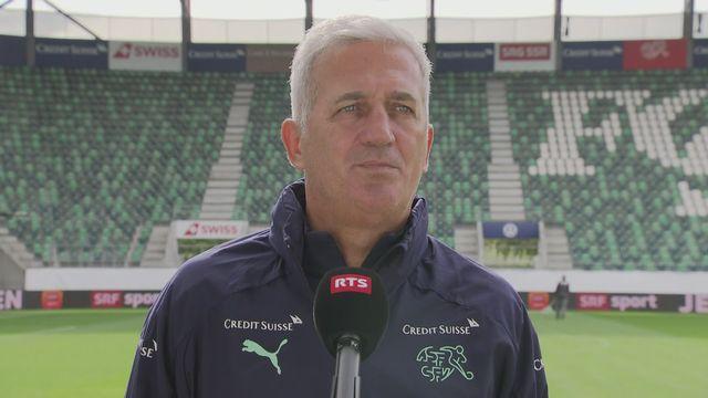 Vladimir Petkovic réagit à l'absence de Xherdan Shaqiri [RTS]