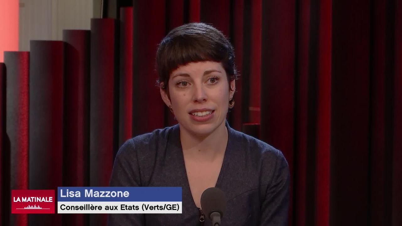 L'invitée de La Matinale (vidéo) - Lisa Mazzone, conseillère aux Etats écologiste [RTS]