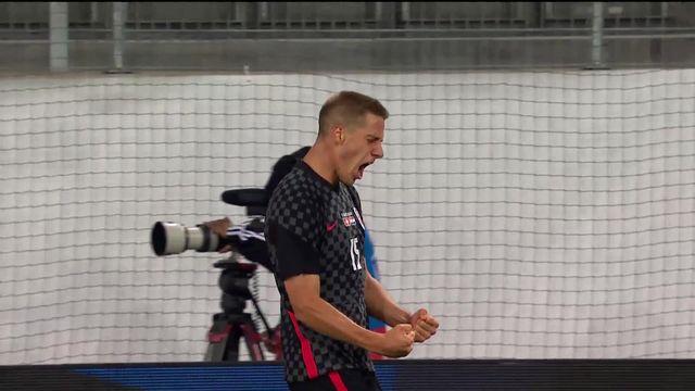 Suisse - Croatie (1-2): défaite logique en amical pour la Nati [RTS]