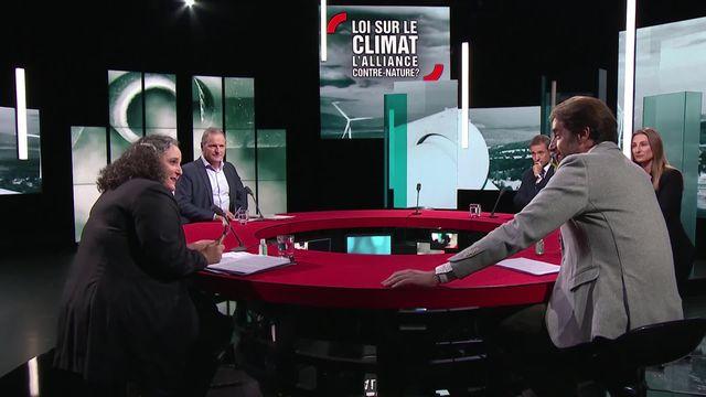 Loi sur le climat: l'alliance contre-nature? [RTS]