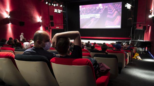 La situation des cinémas en Suisse est critique. [Laurent Gillieron - Keystone]