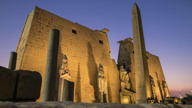 Le temple de Luxor. [Marc Dozier - Hemis via AFP]