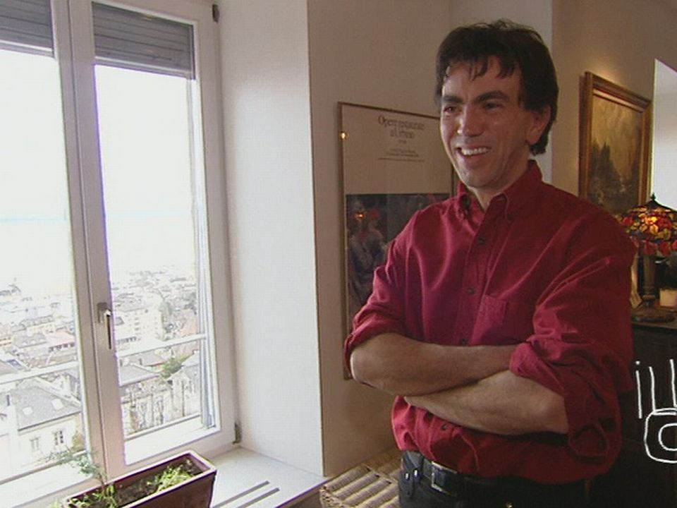 Robert Bouvier, directeur du Théâtre du Passage en 2006. [RTS]