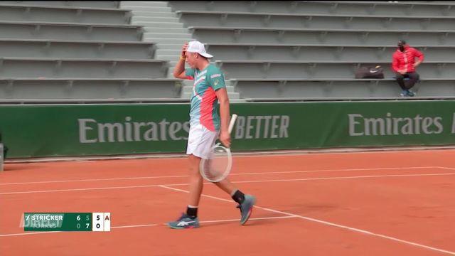 Deux joueurs suisses, Dominic Stricker et Leandro Riedi se qualifient pour la finale du tournoi junior à Roland-Garros ! [RTS]