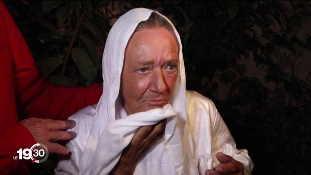 Sophie Pétronin, dernière otage française dans le monde, est arrivée en France. [RTS]