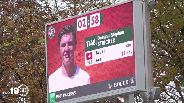 A Roland-Garros, la finale du tournoi juniors masculin opposera deux Suisses: Dominic Stricker et Leandro Riedi. [RTS]