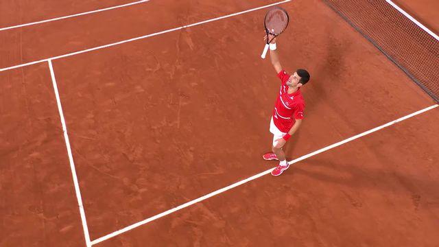 """1-2, N.Djokovic (SRB) - S.Tsitsipas (GRE) 6-3, 6-2, 5-7, 4-6, 6-1: le """"Djoker"""" s'impose en 5 sets et rejoint Nadal en finale [RTS]"""