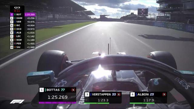 GP d'Allemagne (#11), Q3: Bottas (FIN) en pole devant Hamilton (GBR) et Verstappen (NED) [RTS]