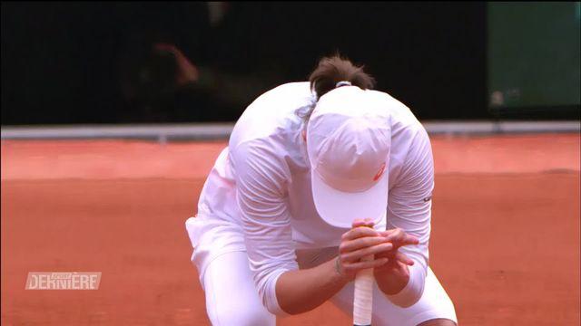 Roland-Garros, Finale dames: I. Swiatek (POL) remporte le tournoi face à S. Kenin (USA) (6-4, 6-1) [RTS]