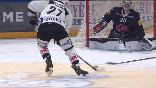National League, 10e journée: Fribourg - Lugano (4-2) [RTS]