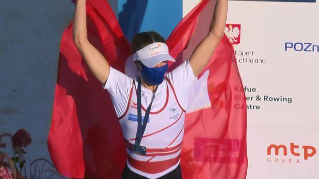 Skiff poids légers, dames: Sofia Meakin (SUI) remporte la médaille d'argent [RTS]
