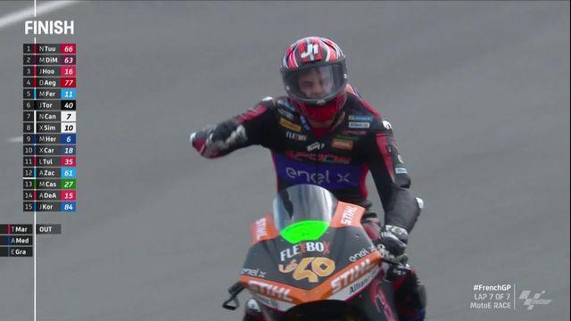 GP de France, MotoE: Torres (ESP) remporte la course, Aegerther (SUI) termine 4e [RTS]