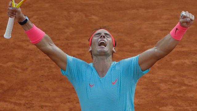 Nadal a ajouté une nouvelle ligne à son prestigieux palmarès. [Christophe Ena - Keystone]