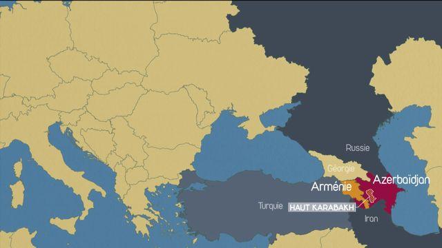 Haut- Karabakh : la guerre ressurgit [RTS]