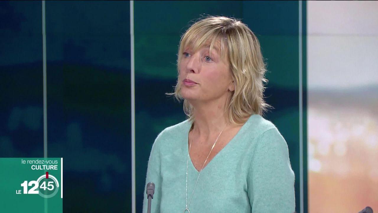 Le Rendez-vous culturel avec l'humoriste Brigitte Rosset. [RTS]