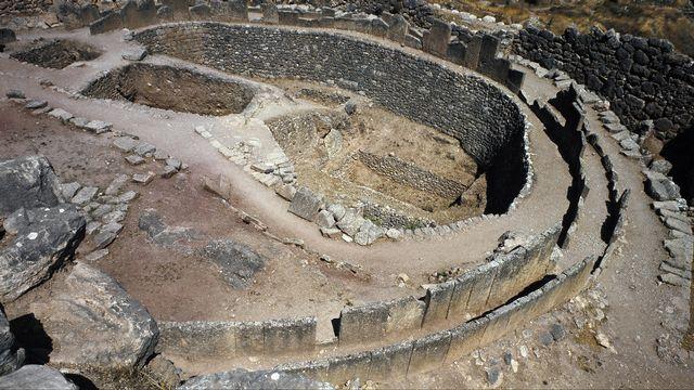 Le site antique de Mycènes. [Luisa Ricciarini - Leemage]