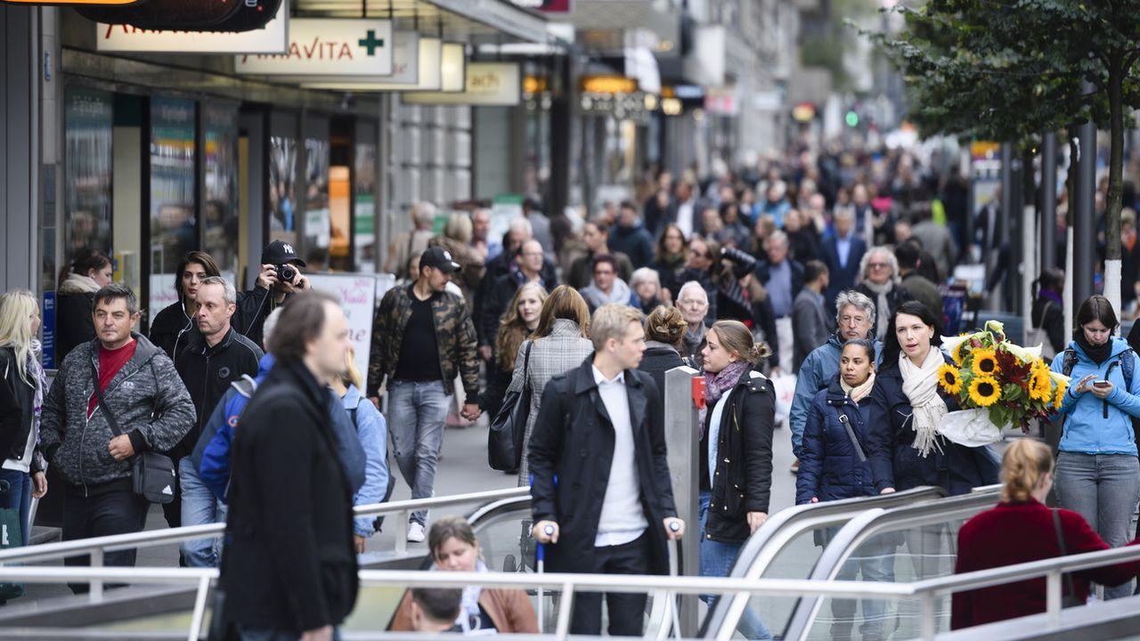 Plus d'un tiers de la population suisse est issue de la migration. [Manuel Lopez - Keystone]