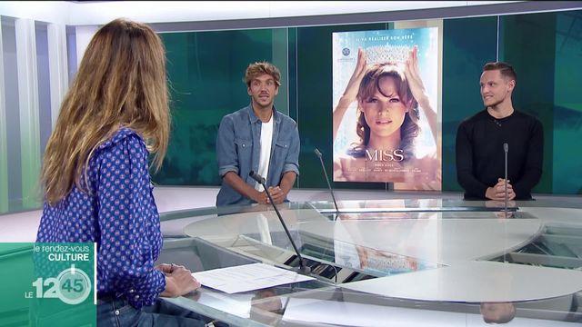 """Rendez-vous culture: le réalisateur franco-portugais Ruben Alves et le comédien Alexandre Wetter présentent le film """"Miss"""" [RTS]"""
