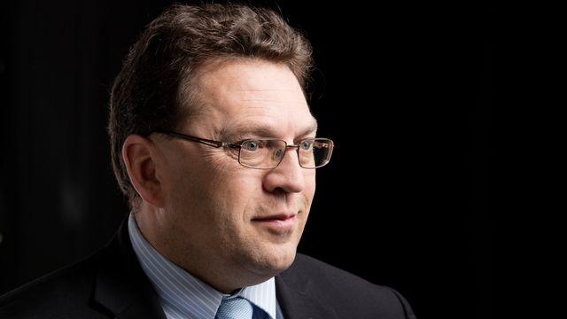 Laurent Wehrli, conseiller national PLR vaudois et syndic de Montreux. [Gaëtan Bally - Keystone]