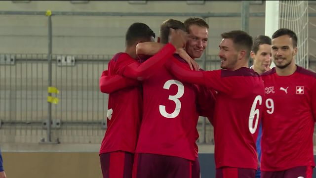 U21, Suisse - Liechtenstein (3-0): victoire aisée et convaincante de l'équipe de Suisse U21 [RTS]