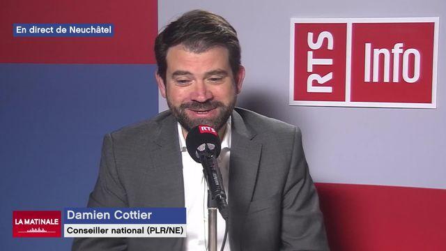 Damien Cottier, conseiller national (PLR-NE) sur le départ de Roberto Balzaretti (vidéo) [RTS]