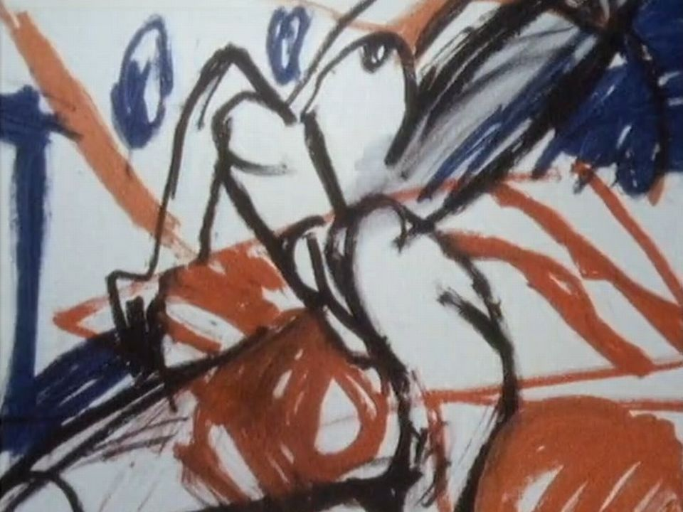 Oeuvre de Francine Simonin, peintre vaudoise. [RTS]