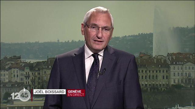 """Verdict du procès """"mains rouges"""": les explications de Joël Boissard [RTS]"""