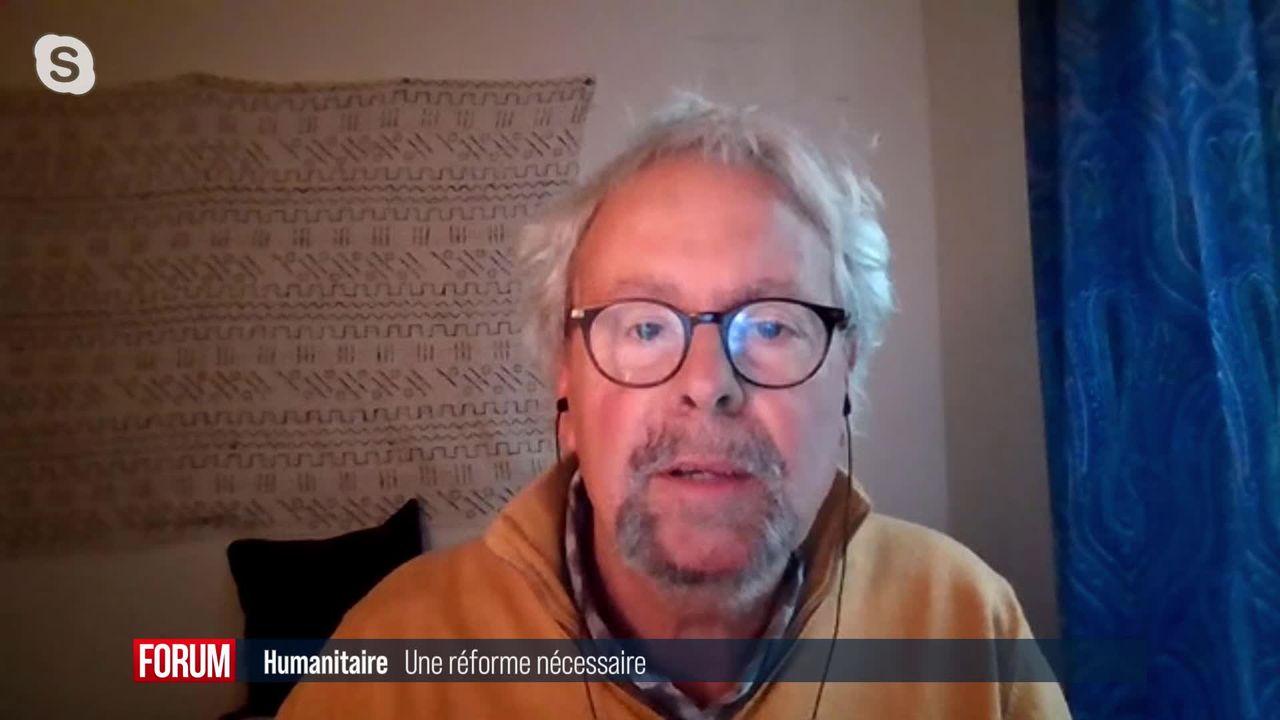 Faut-il réformer l'humanitaire? Interview de Pierre Micheletti [RTS]