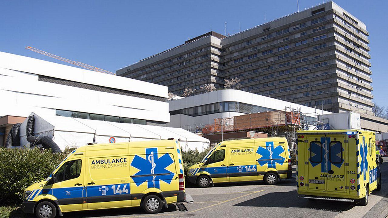 La coordination des soins intensifs en Suisse romande s'opère depuis le CHUV (photo). [Laurent Gillieron - Keystone]