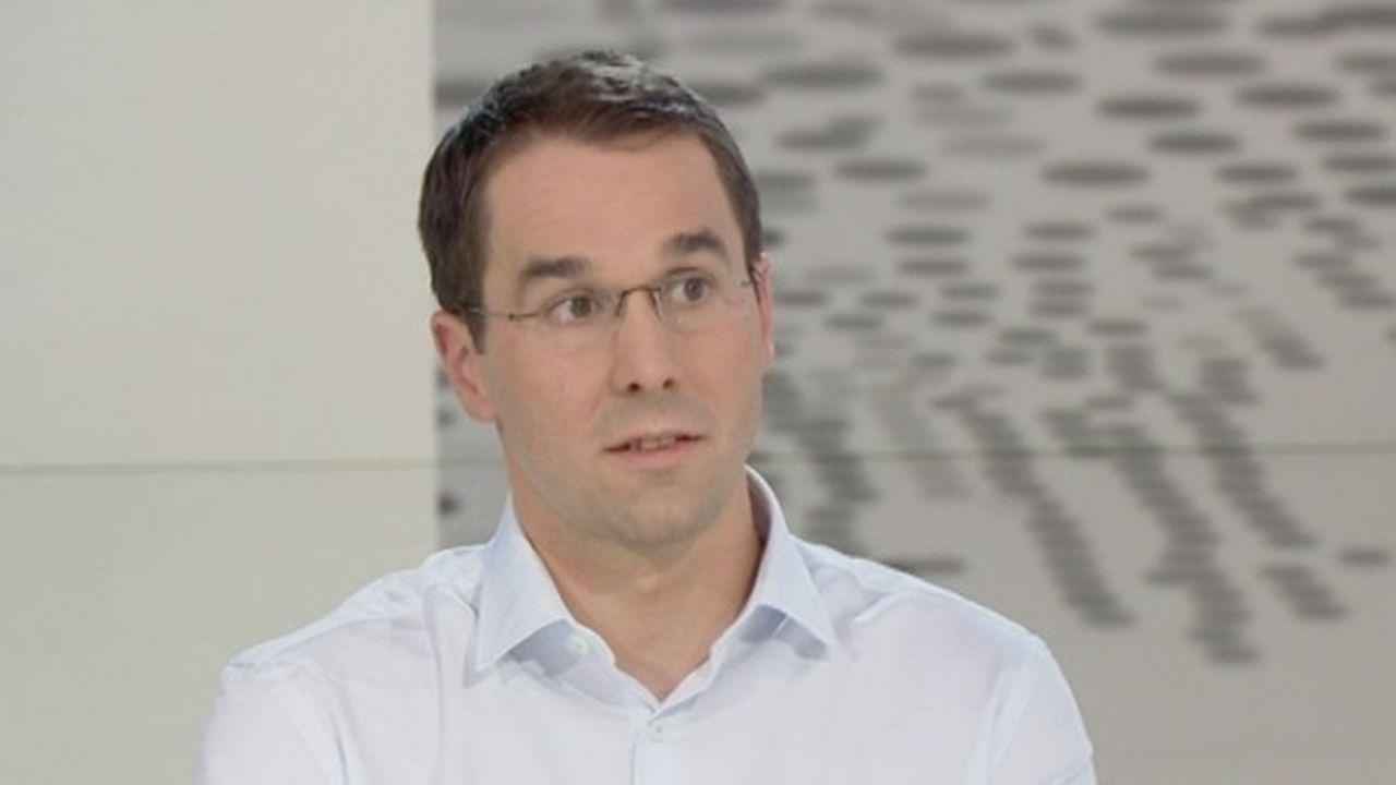Stephan Wenger, co-président de la Fédération Suisse des Psychologues. [RTS]