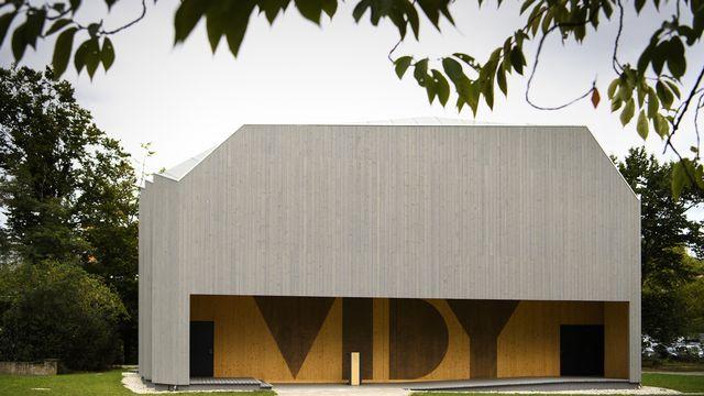 Le Pavillon, la salle annexe du Théâtre de Vidy, a été conçu par Yves Weinand (IBOIS, EPFL). Laurent Gillieron Keystone [Laurent Gillieron - Keystone]