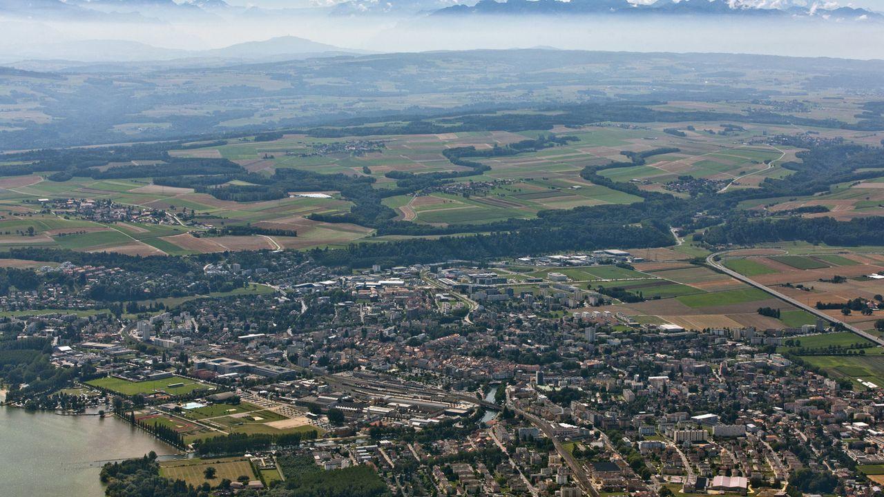 Le PS et les Verts contestent un investissement de 10 millions de francs pour un nouveau port à Yverdon-les-Bains. [Alessandro Della Bella - KEYSTONE]