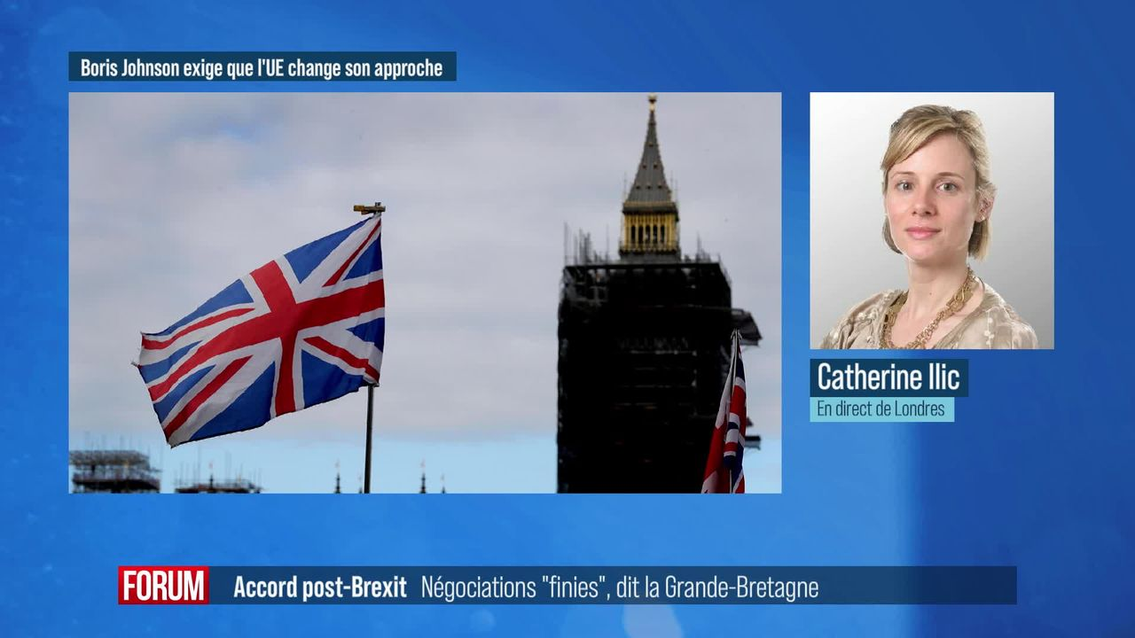"""Pour la Grande-Bretagne, les négociations post-Brexit sont """"finies"""" [RTS]"""
