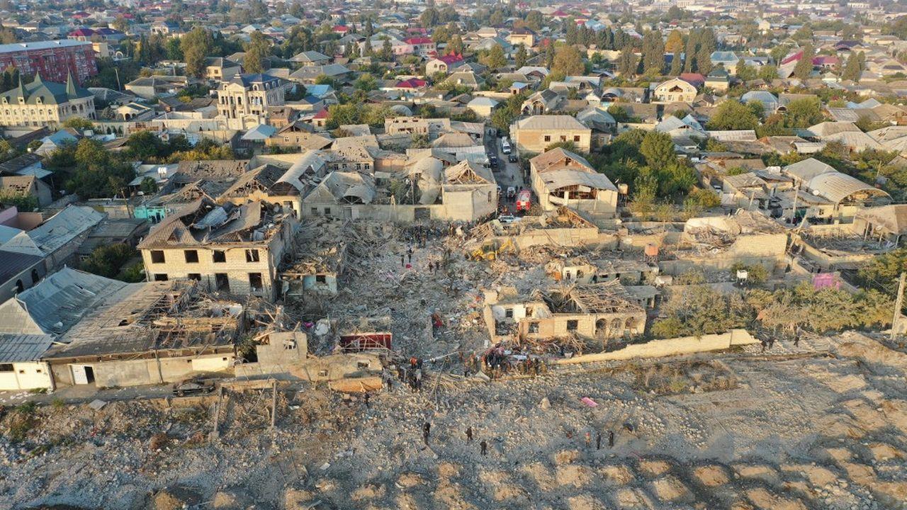 Arménie et Azerbaïdjan se répondent à coup de bombardements [Lokman Akkaya - AFP]