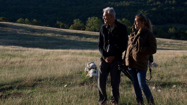 Gilbert Cochet et Béatrice Kremer-Cochet, Réserve de vie sauvage dans le Vercors. [Lucile Solari - RTS]