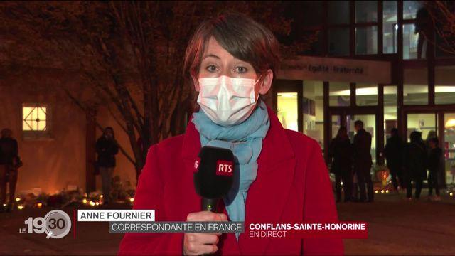 Un enseignant d'histoire décapité en France: le commentaire d'Anne Fournier [RTS]