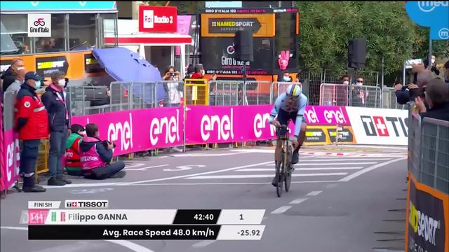 Cyclisme: Giro d'Italia [RTS]
