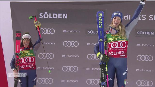 Ski alpin: Géant femmes de Sölden [RTS]