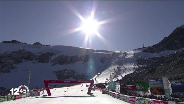 Début de saison de ski pas comme les autres avec un protocole sanitaire strict pour éviter l'annulation des courses. [RTS]