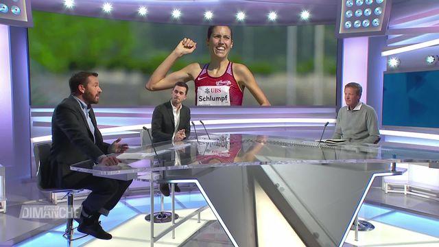 Semi-marathon: Fabienne Schlumpf bat son record national lors des Mondiaux [RTS]