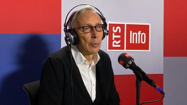 Pour Jean François Roth, le deuxième siège PDC n'est pas acquis au gouvernement jurassien. [Gaël Klein - RTS]
