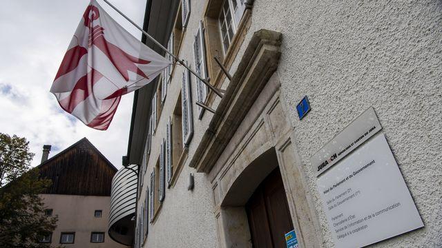 L'Hotel du Parlement et du gouvernement du canton du Jura. [Jean-Christophe Bott - Keystone]