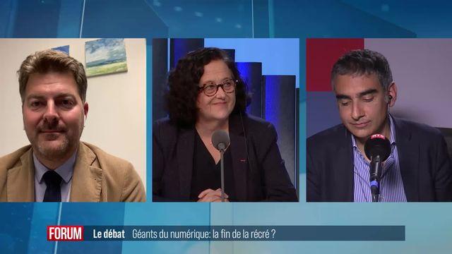 Le grand débat - Géants du numérique: la fin de la récré? [RTS]