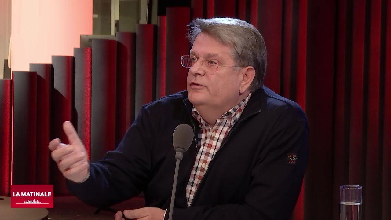 Hugo van Buel s'exprime sur l'initiative pour des multinationales responsables (vidéo) [RTS]