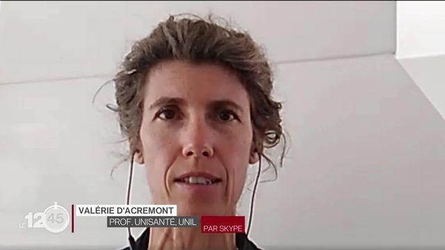 Tests Covid en pharmacie: l'avis de Valérie D'Acremont, professeure à Unisanté [RTS]